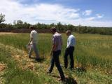 International companies visit the fields in Aragón
