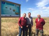 Project partners visit LIFE+ Operation C02 site in Aragon