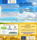 Change of location Final Conference 18th of May: central office of Magrama Madrid